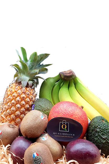 Livraison à domicile de panier de fruits exotiques