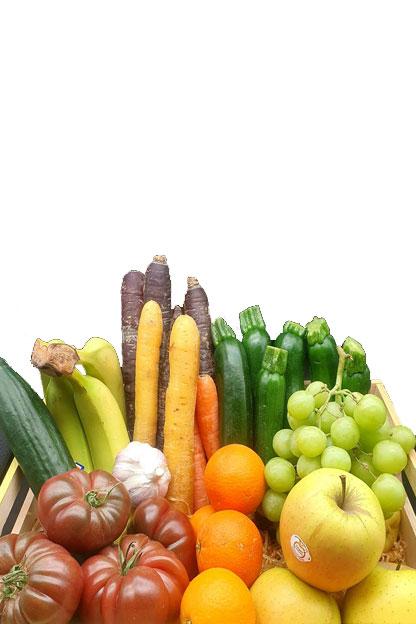 Livraison à domicile de panier de fruits et légumes