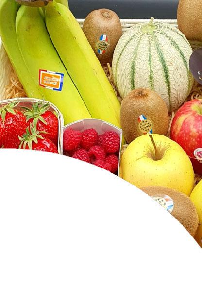 Livraison à domicile de panier de fruits frais